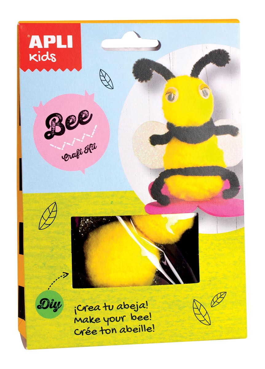 Apli Kids craft kit op blister, bij