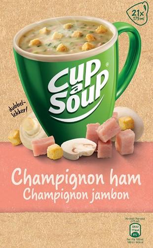 Cup-a-Soup champignon ham, pak van 21 zakjes-2