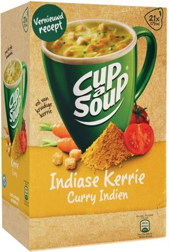 Cup-a-Soup Indiase kerrie, pak van 21 zakjes