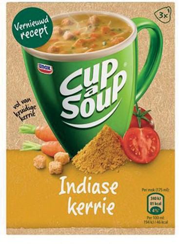 Cup-a-Soup Indiase kerrie, pak van 21 zakjes-2