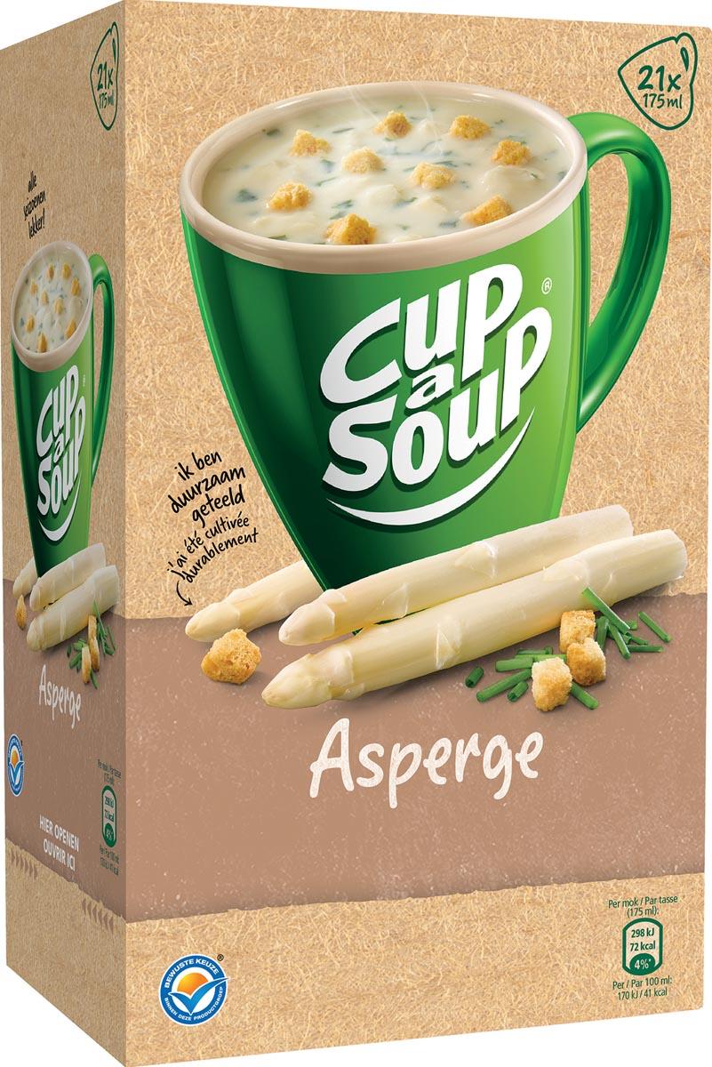 Cup-a-Soup asperge met kaas croutons, pak van 21 zakjes