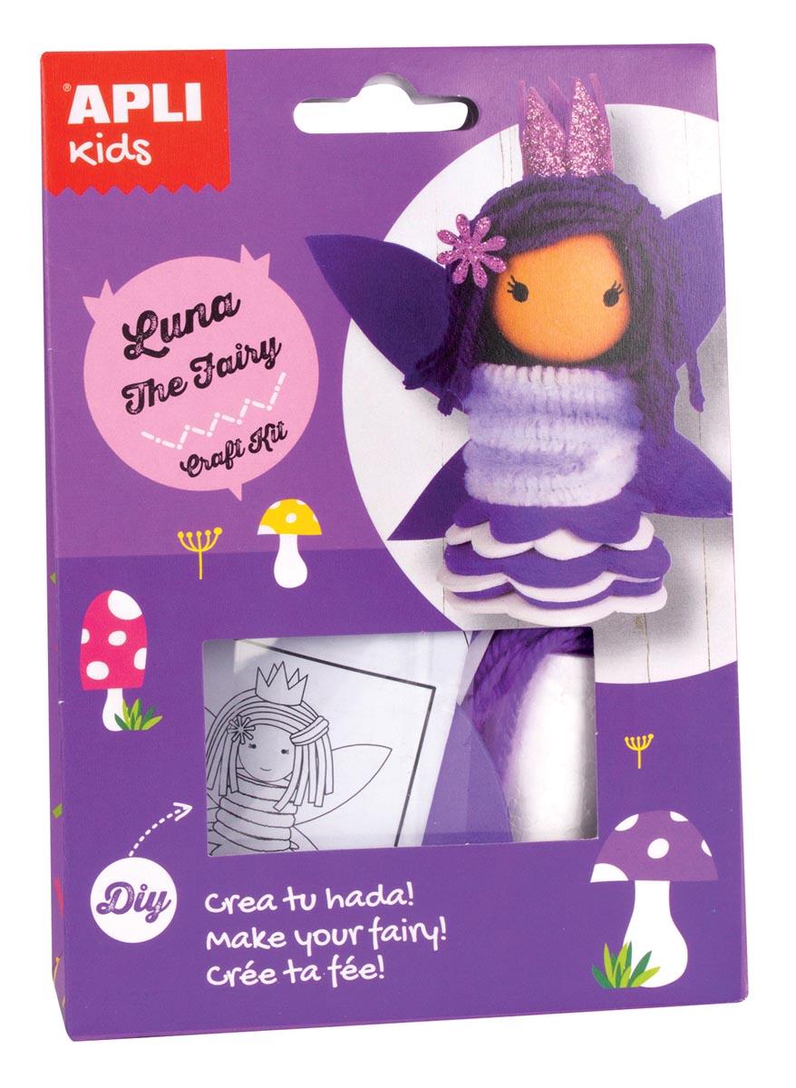 Apli Kids craft kit op blister, fee Luna