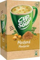 Cup-a-Soup mosterd, pak van 21 zakjes
