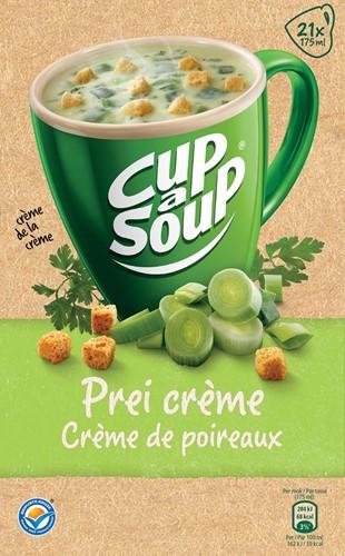 Cup-a-Soup prei crème met kaas croutons, pak van 21 zakjes-2