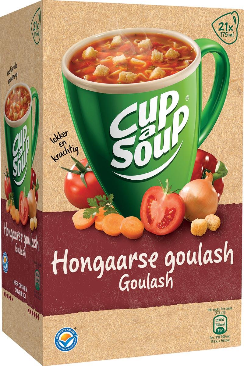 Cup-a-Soup Hongaarse goulash, pak van 21 zakjes