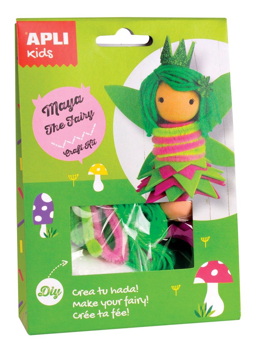 Apli Kids craft kit op blister, fee Maya