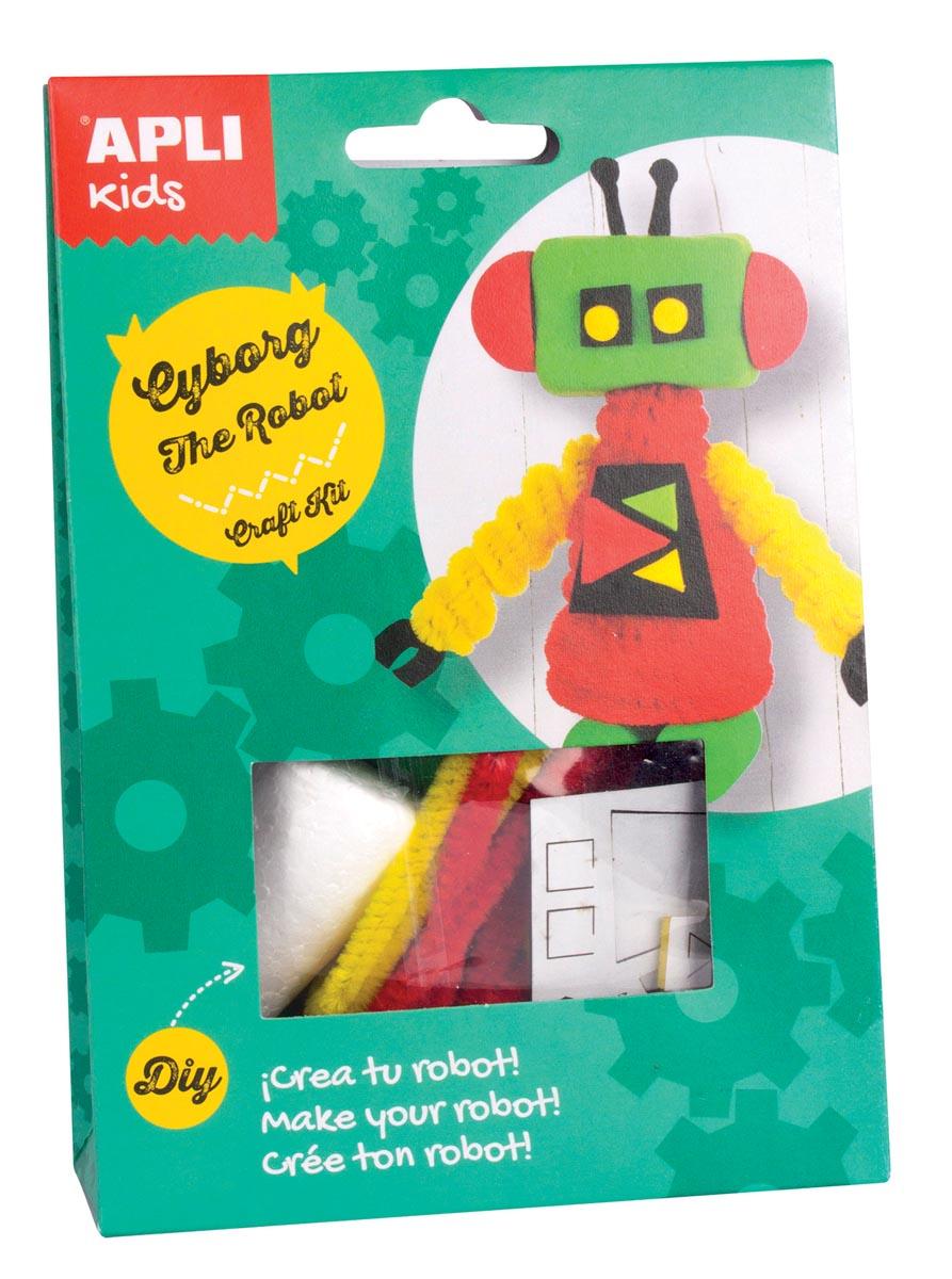 Apli Kids craft kit op blister, robot Cyborg
