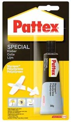 Pattex contactlijm Special Polystyreen, tube van 30 g