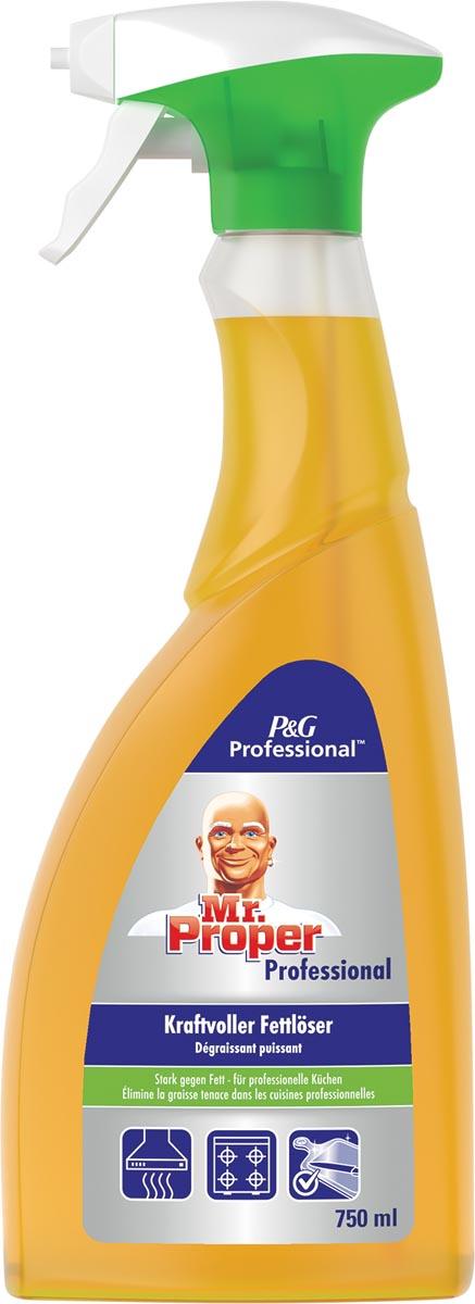 Mr. Proper keukenontvetter, flacon van 750 ml