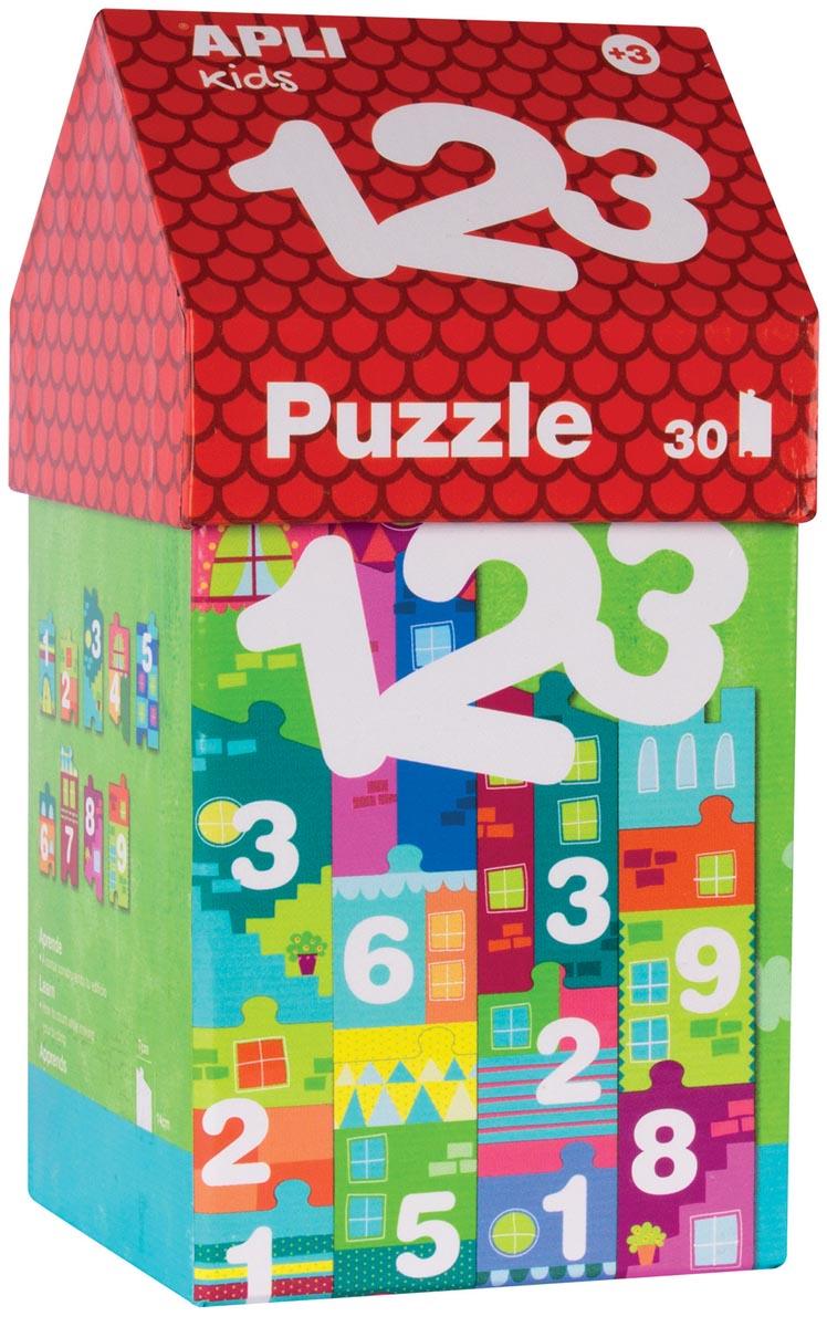 Apli Kids puzzel huisje met 30 stukken, 123