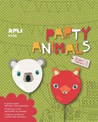 Apli Kids ballonnen Party Animals, blister met 6 stuks