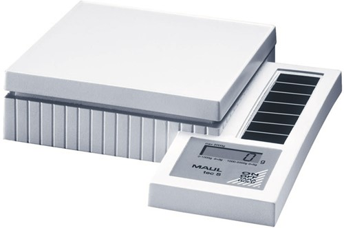 Maul postweegschaal MAULtec S, weegt tot 2 kg, gewichtsinterval van 2 gram-2