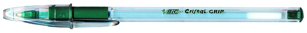 Bic balpen Cristal Grip groen