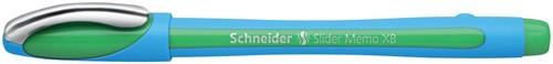 Schneider Balpen Slider Memo XB groen