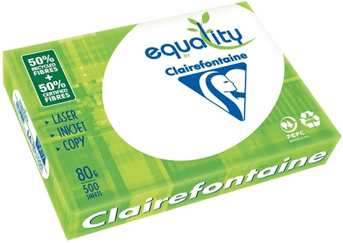 Clairefontaine Equality printpapier ft A4, 80 g, pak van 500 vel