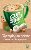 Cup-a-Soup champignon crème met croutons, pak van 21 zakjes-2