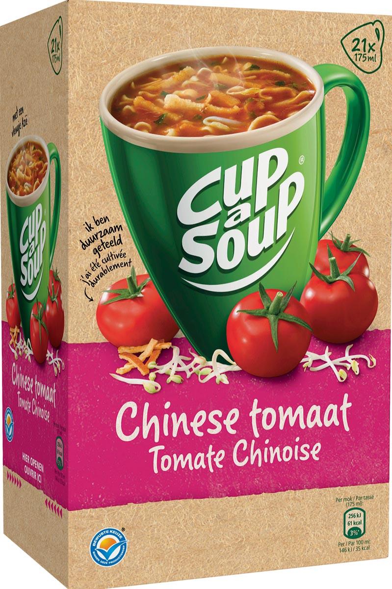 Cup-a-Soup Chinese tomaat, pak van 21 zakjes