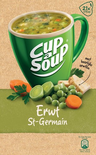 Cup-a-Soup erwten (St. Germain), pak van 21 zakjes-2