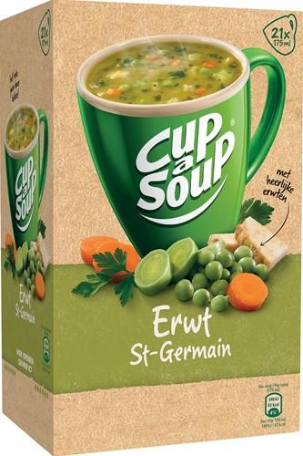 Cup-a-Soup erwten (St. Germain), pak van 21 zakjes