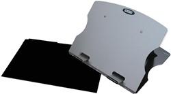 Desq laptopstandaard met beschermhoes voor laptops tot 17 inch