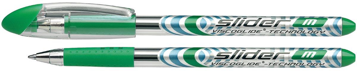 Schneider Balpen Slider schrijfbreedte 0,7 mm, groen