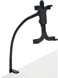 Desq tablet standaard met bureaklem, zwart