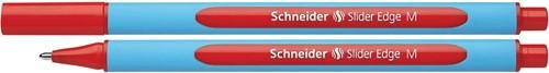 Schneider Balpen Slider Edge medium punt, rood