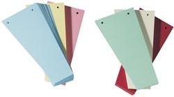 Class'ex trapezium verdeelstroken, geassorteerde kleuren, pak van 100