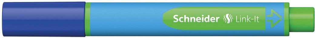 Schneider balpen Slider Link-it, blauw