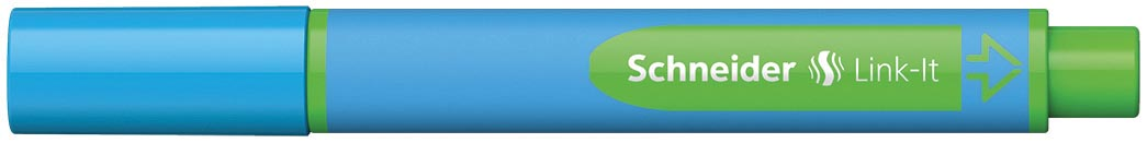 Schneider balpen Slider Link-it, lichtblauw