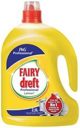 Dreft handafwasmiddel citroen, flacon van 2,5 liter