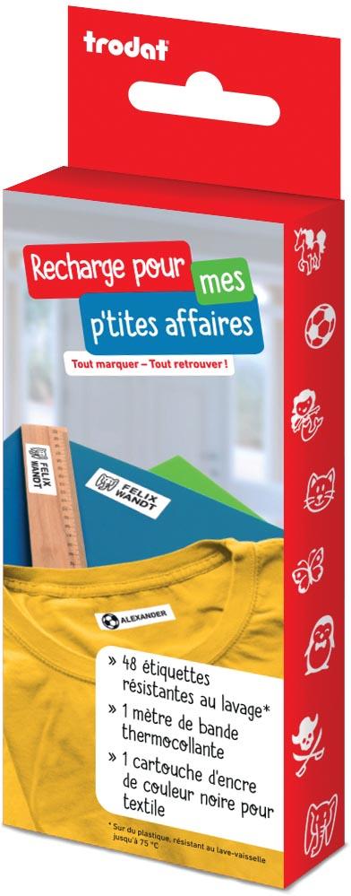 Trodat navulkit voor Label Your Life textiel-stempel, Frans