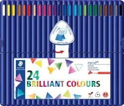 Staedtler driehoekig kleurpotlood Ergosoft 24 potloden