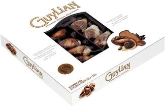 Guylian zeevruchten chocolade, doos van 250 gram