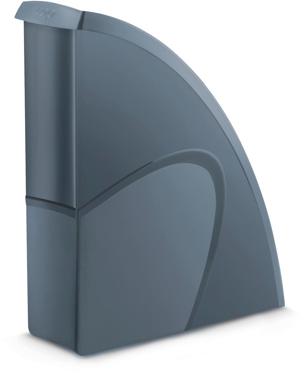 CepPro tijdschriftenhouder, voor ft A4, grijs