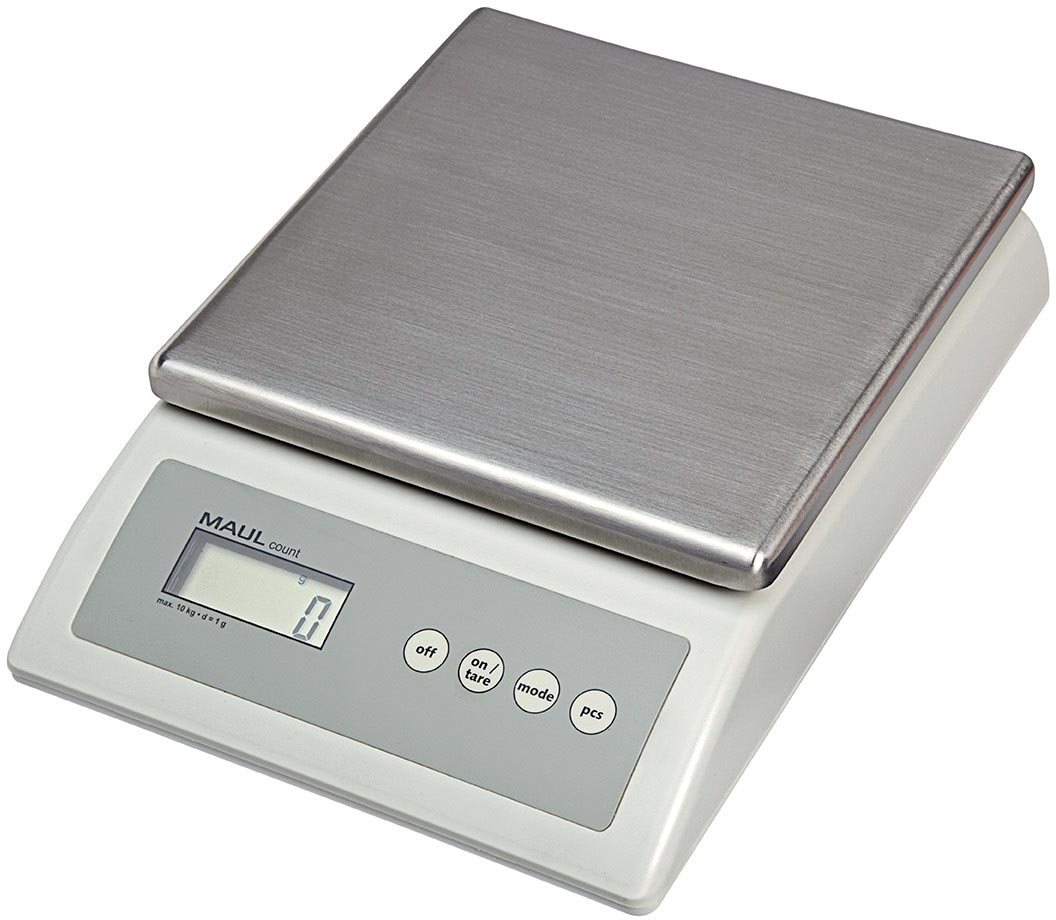 Maul pakketweegschaal met telfunctie MAULcount, weegt tot 10 kg