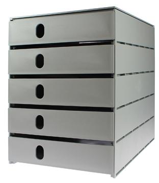 Alle bedrijven online kast met 4 laden for Ladenblok durable varicolor