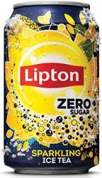 Lipton Ice Tea Zero frisdrank, blik van 33 cl, pak van 24 stuks
