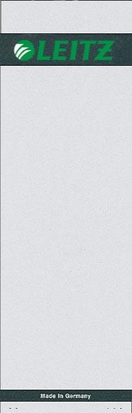 Leitz rugetiketten ft 6,1 x 19,2 cm, 100 stuks