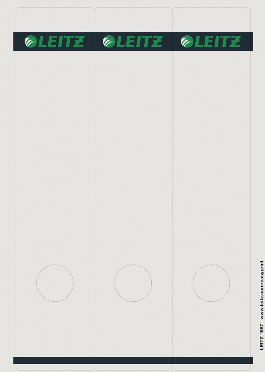 Leitz Rugetiketten ft 6,1 x 28,5 cm, 75 stuks