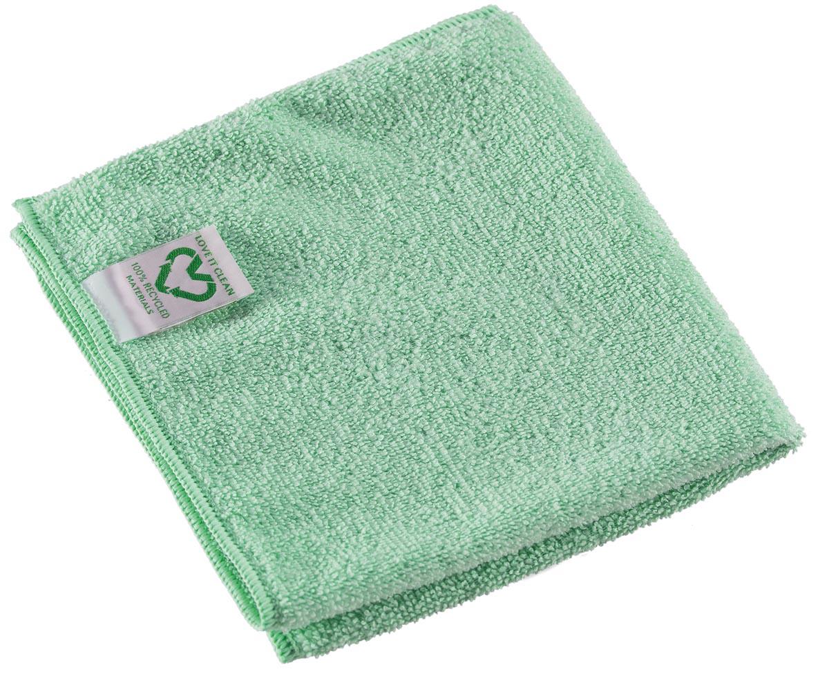 Vileda r-MicroTuff Swift reinigingsdoek, groen, pak van 5 stuks