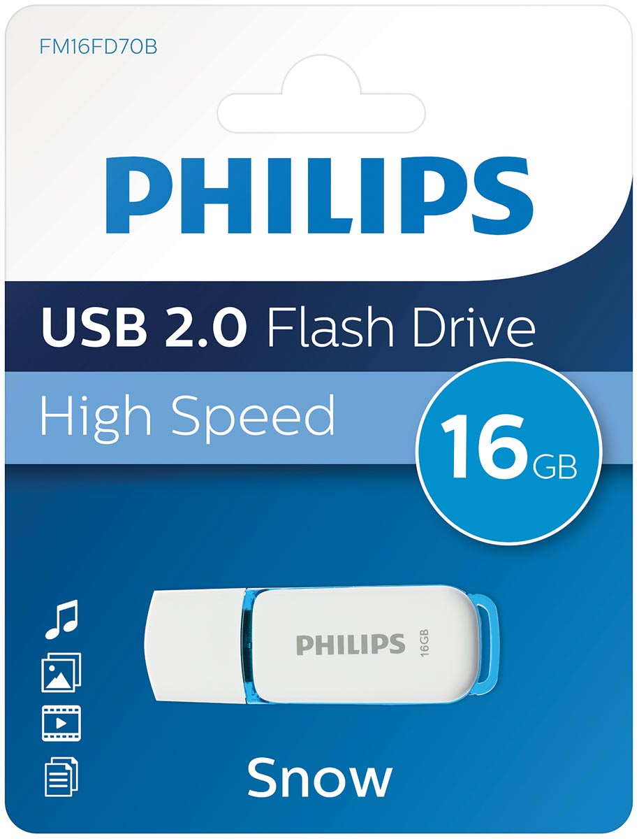 Philips Snow USB 2.0 stick, 16 GB
