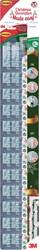 Command decohaken voor kerstversiering, voor buitengebruik, strip van 12 stuks