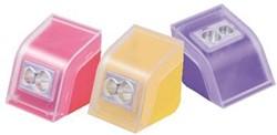 M+R potloodslijper Cool & Colorful, in geassorteerde kleuren