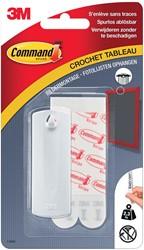 Command fotolijststrip voor haak met zaagtanden, draagvermogen 2,3 kg, wit, blisterverpakking