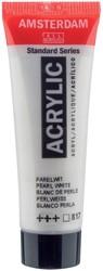 Amsterdam acrylverf, tube van 20 ml, parelwit