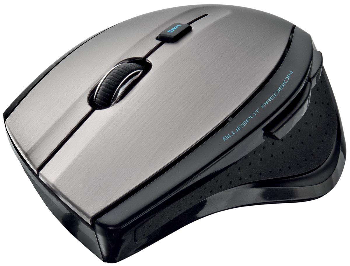 Trust Maxtrack draadloze muis, zwart en grijs