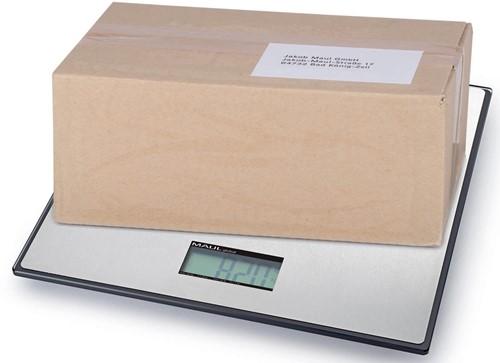 Maul pakketweegschaal MAULglobal, weegt tot 100 kg, gewichtsinterval van 100 gram