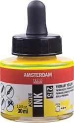 Amsterdam acryl inkt, flacon van 30 ml, primairgeel