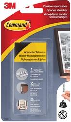 Command fotolijststrip, large, draagvermogen 7,2 kg, zwart, blister van 8 stuks